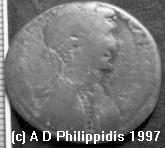 Cleopatra Coin Image © A D Philippidis 1997